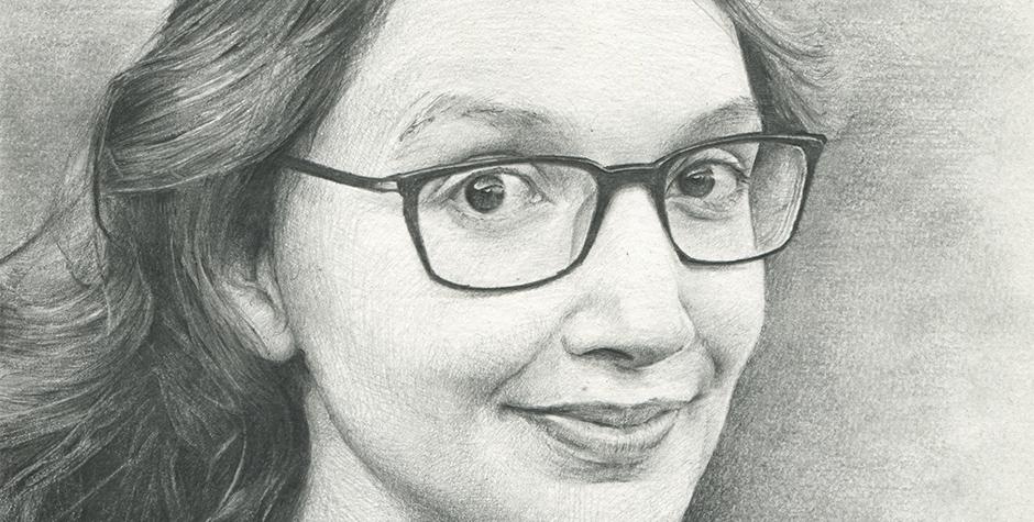portrettekening-potlood